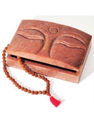 Buddha Eyes Stone Box 6