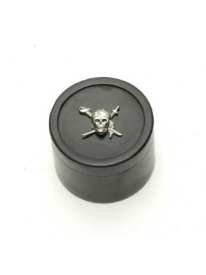 Stone Black Box Skull 2