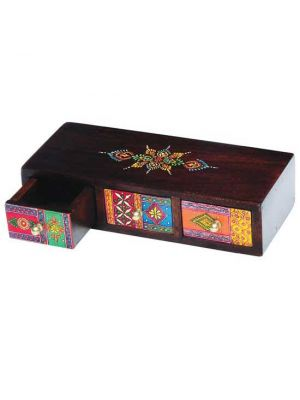Hand Painted Wood Drawers 11