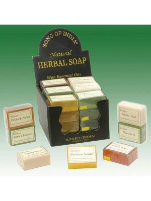 Wellness Herbal Soap with Essential Oil (5 scents)